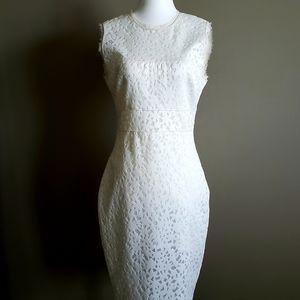 Elizabeth and James, size 8, off white, Dress